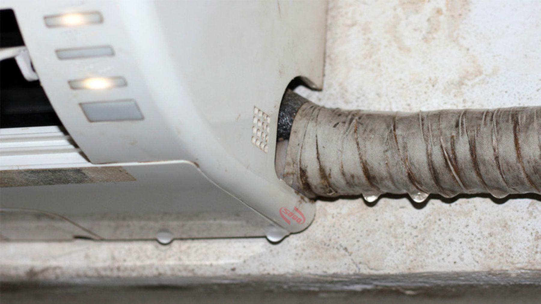 Khắc phục tình trạng máy lạnh bị chảy nước