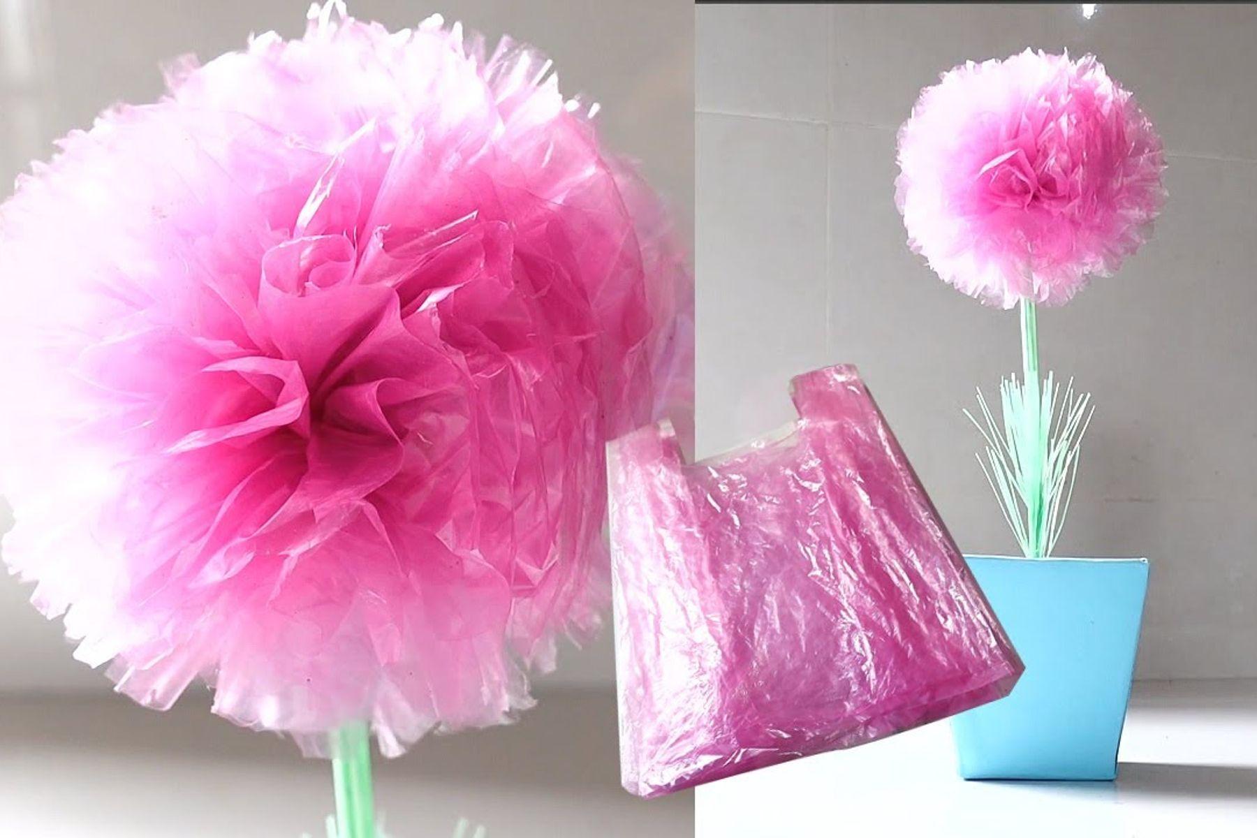 #Sáng tạo từ túi ni lông thành vật dụng hữu ích bảo vệ môi trường