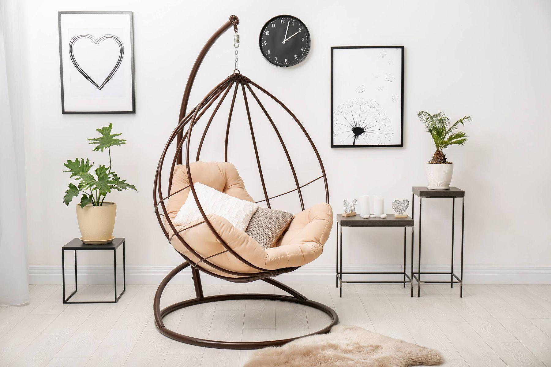 How to Restore Metal indoor swing shine