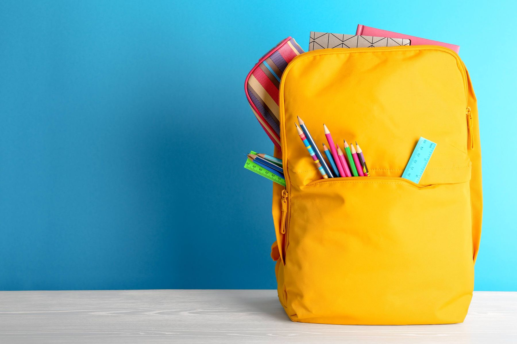 How to clean glue stains from your kid's school bag?