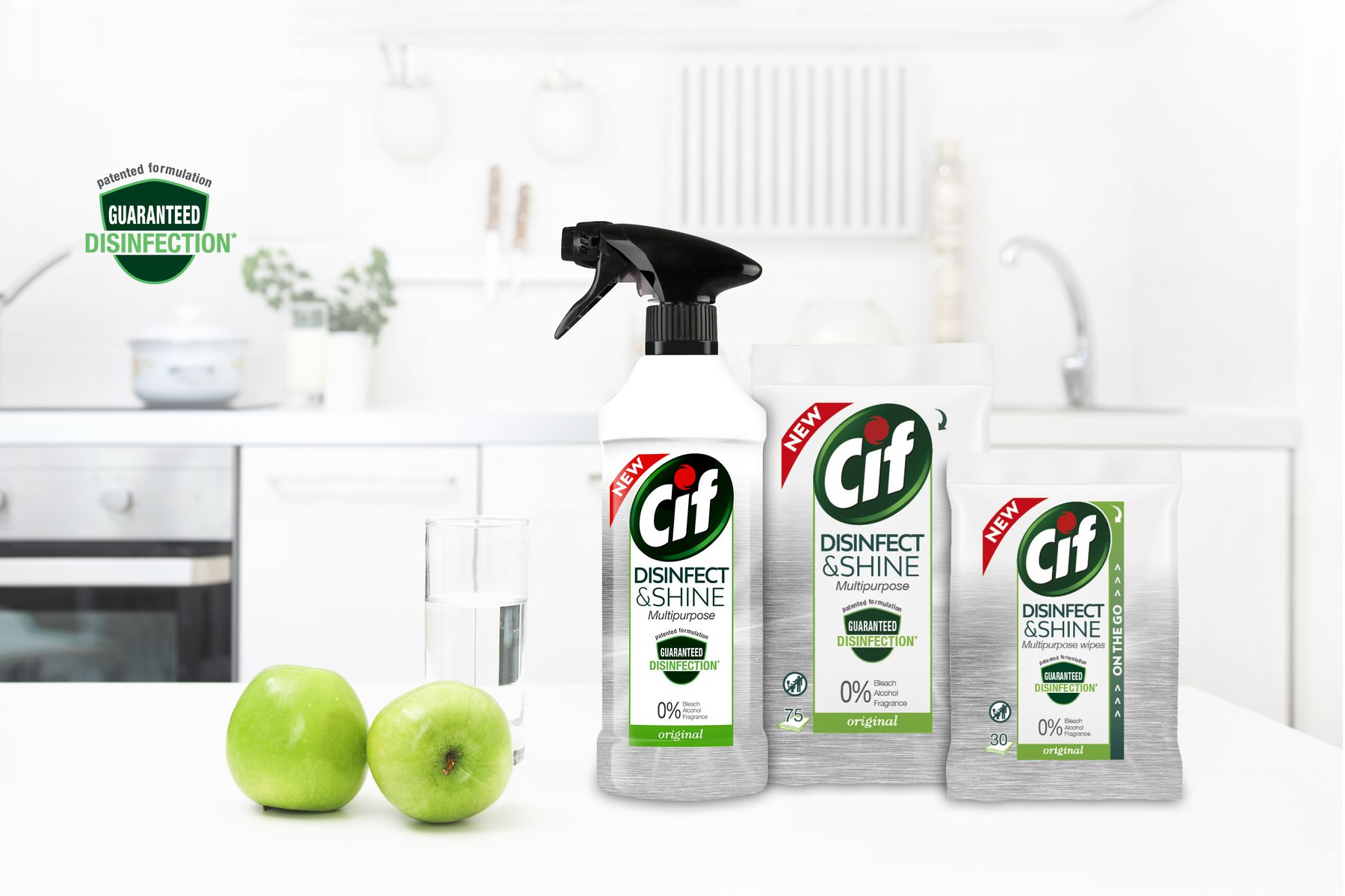 CIF Disinfect & Shine Sfeerbeeld Banner