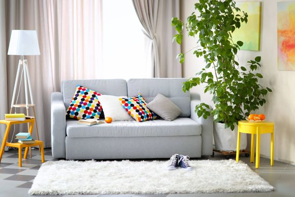 A Simple Method to Clean Baby's Vomit Stains from Sofa