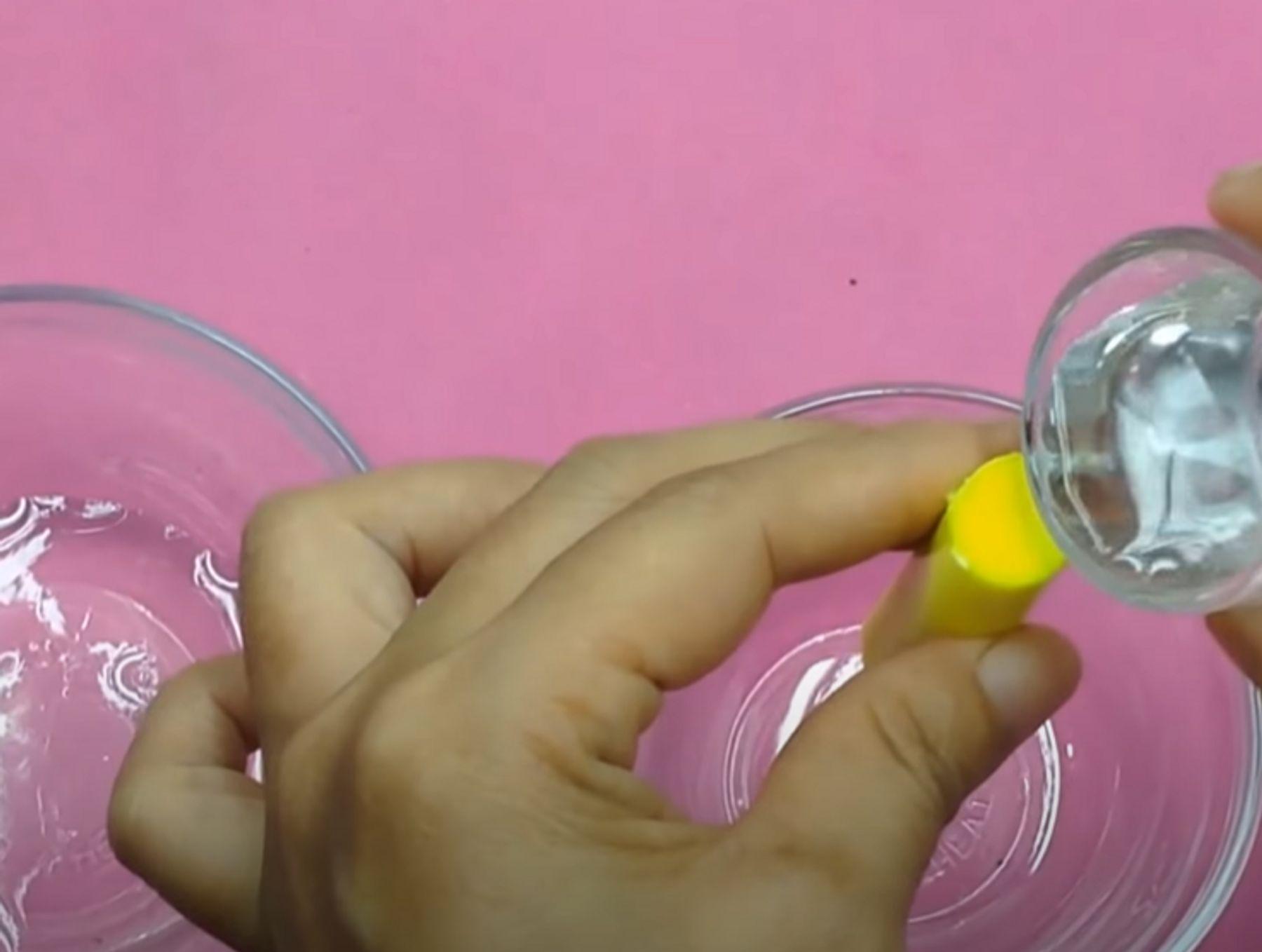 Cách làm slime bằng bút dạ quang, hồ nước cực đẹp và đơn giản