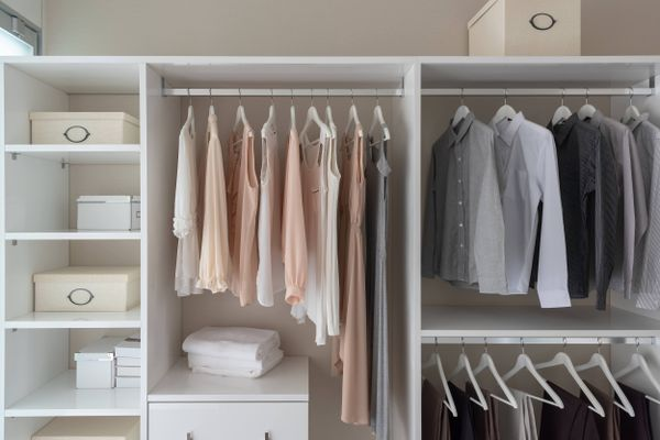 How to organise your closet in 5 easy ways