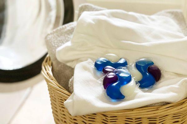 kleding uit wasmachine