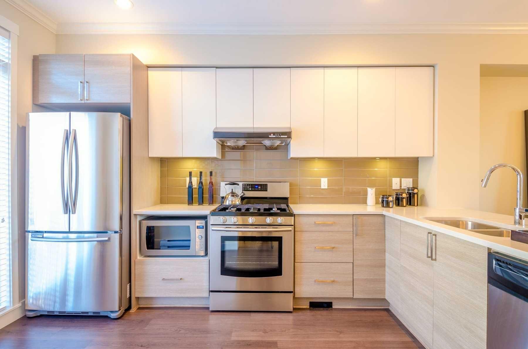 trang trí nhà bếp với Phong cách thiết kế công nghệ