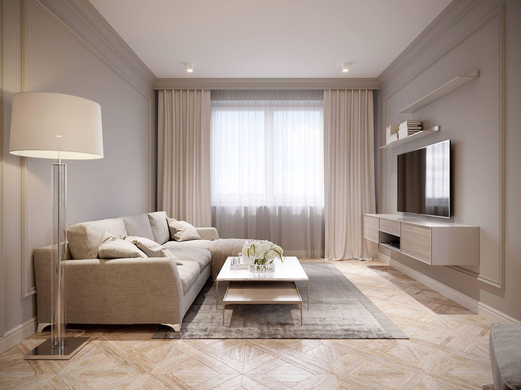 Thiết kế phòng khách nhà ống hiện đại