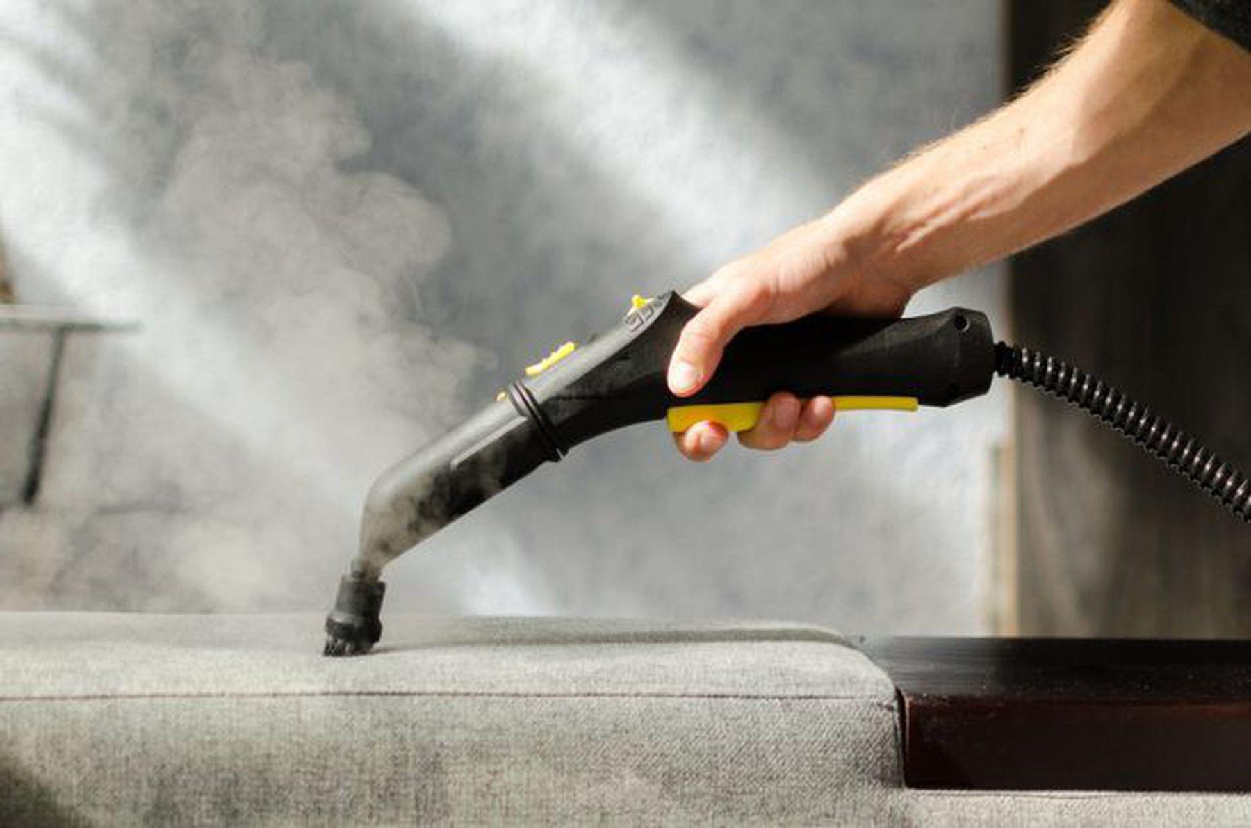 Thiết bị máy phun hơi nước nóng làm sạch mặt nệm