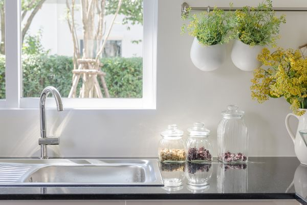 How to Clean a Stainless Steel Sink and Other Stainless Steel Appliances shutterstock 316558103