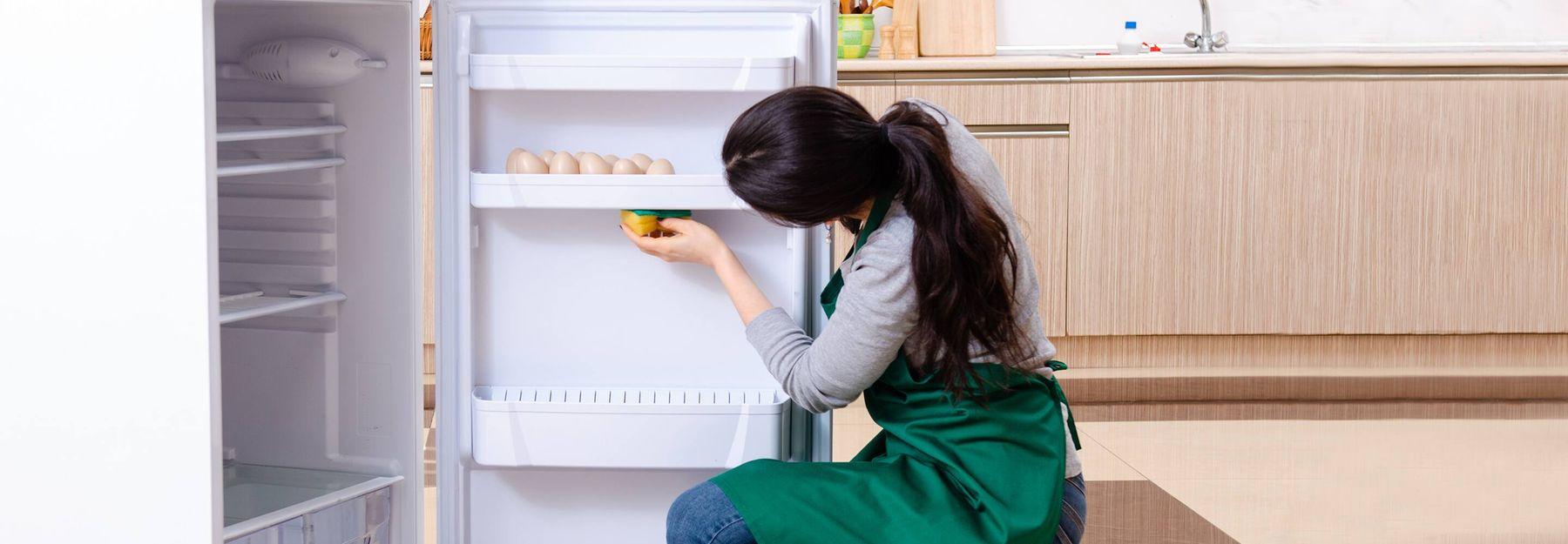 sắp xếp lại tủ lạnh