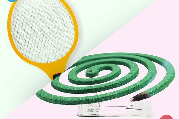 Sử dụng cùng lúc vợt muỗi và thuốc diệt muỗi có thể gây nổ