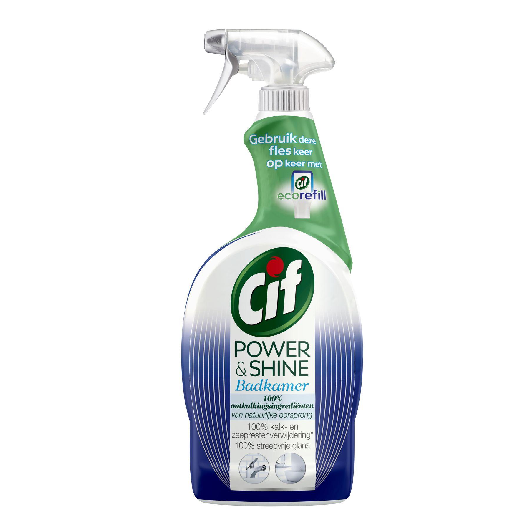 Cif Power & Shine Badkamer Spray 750ml