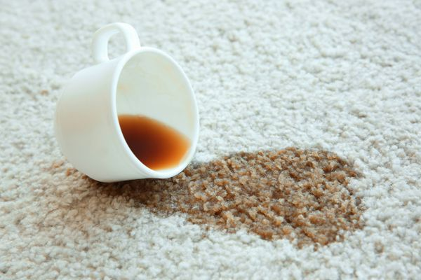 How to Remove a Coffee Stain from Woven Carpet