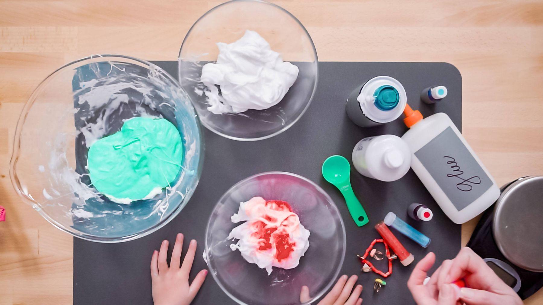Cách làm slime dễ nhất từ kem đánh răng