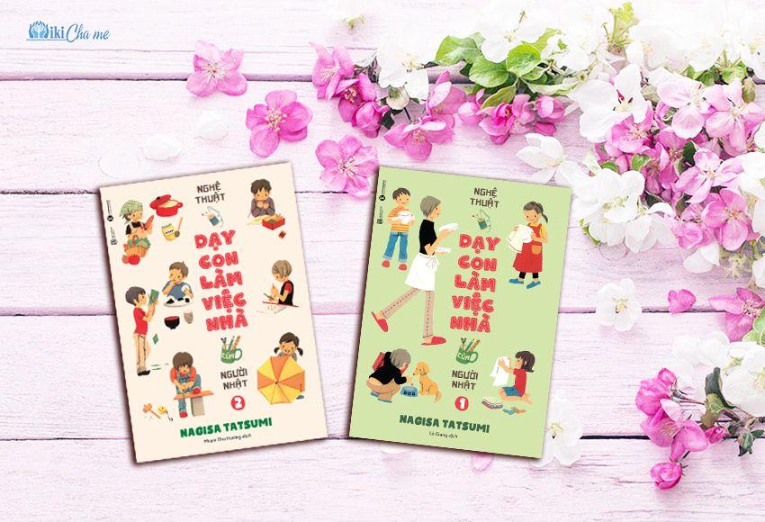 """Sách nuôi dạy con kiểu Nhật - """"Nghệ thuật dạy con làm việc nhà của người Nhật""""- Nagisa Tatsumi"""