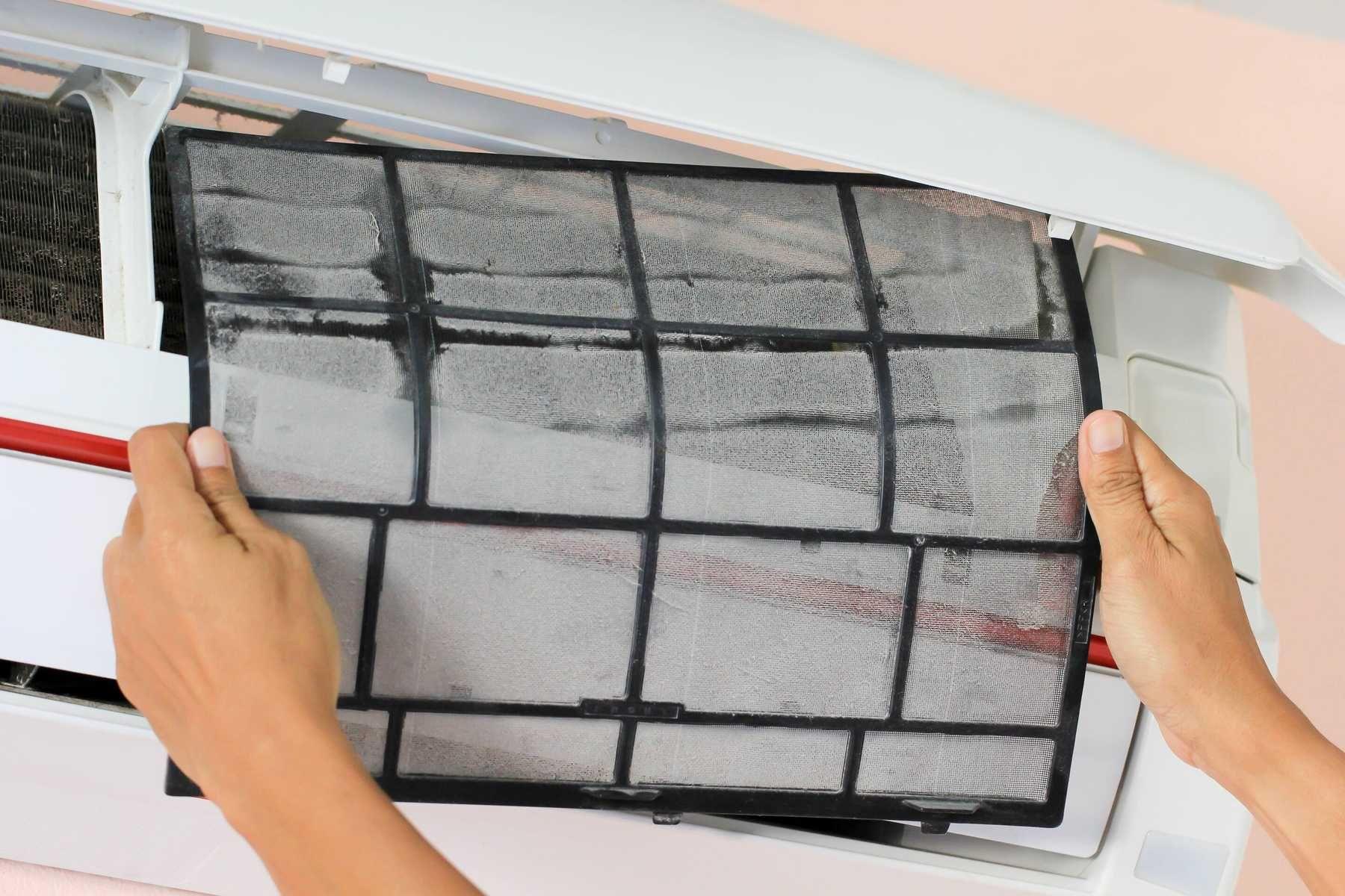 Cách tháo máy lạnh, điều hòa để vệ sinh lưới lọc