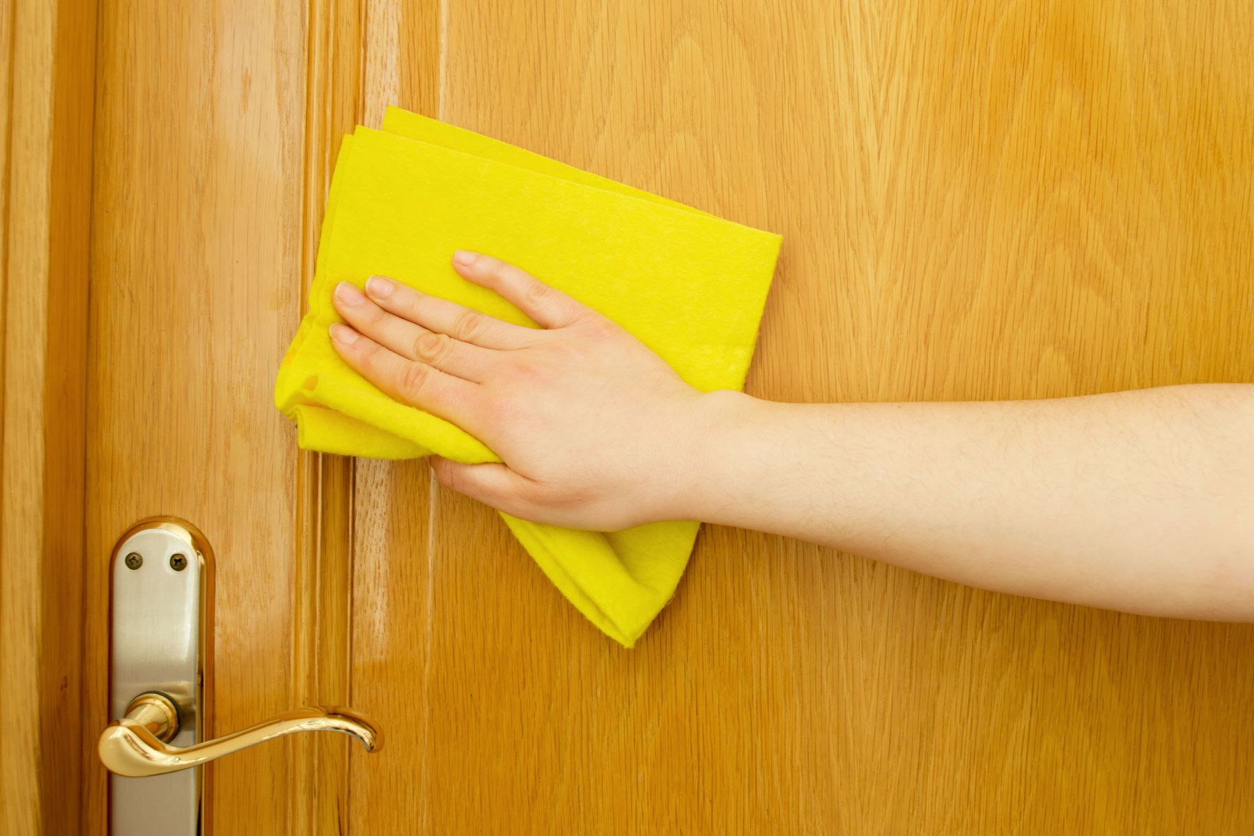 Steps to rid your doors of the fungus