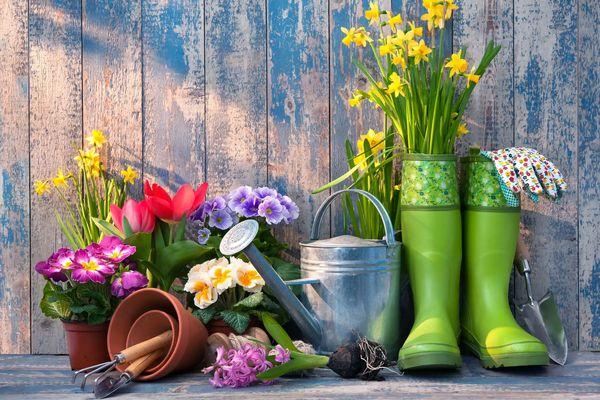 Ideas de reciclaje para patios y jardines