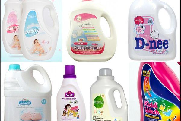 Cách chọn các loại nước xả vải cho trẻ sơ sinh