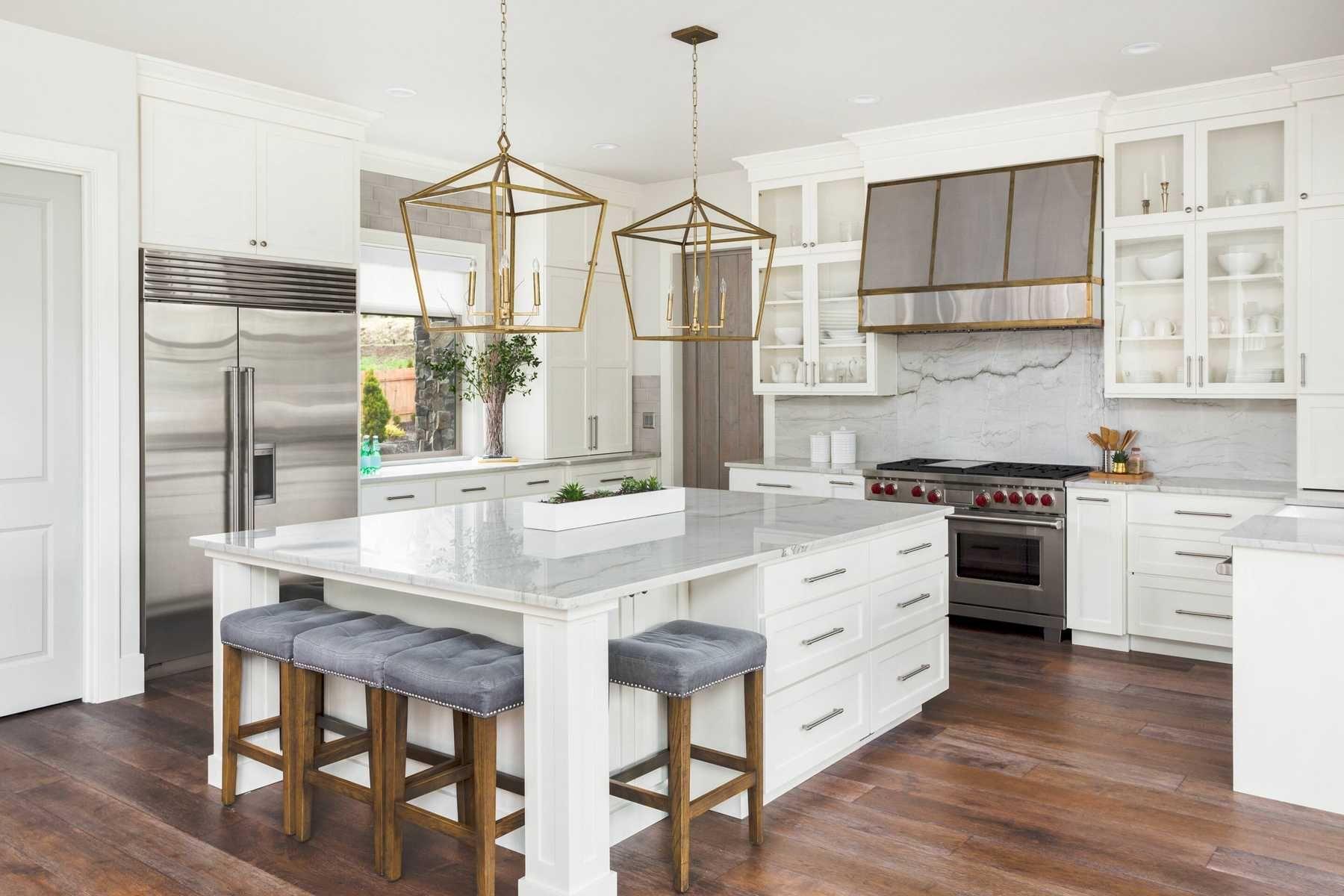 trang trí nhà bếp với Phong cách thượng lưu