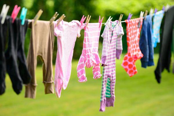 Nếu muốn giặt đồ thật sạch cho bé, mẹ hãy chú ý đến những điều sau