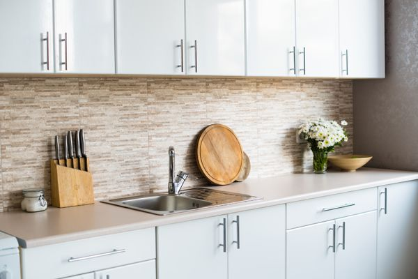 How to Clean Kitchen Cabinets Like an Expert shutterstock 488628967