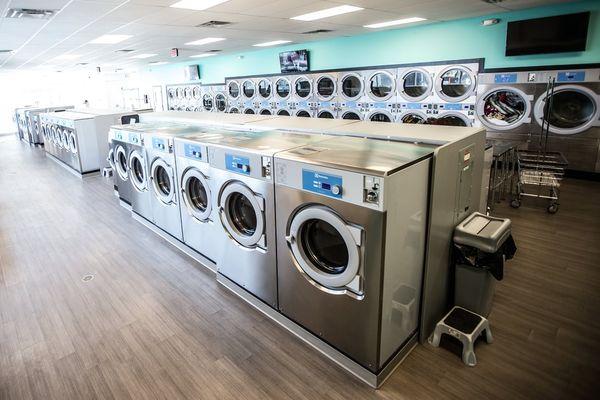 máy giặt hiện đại