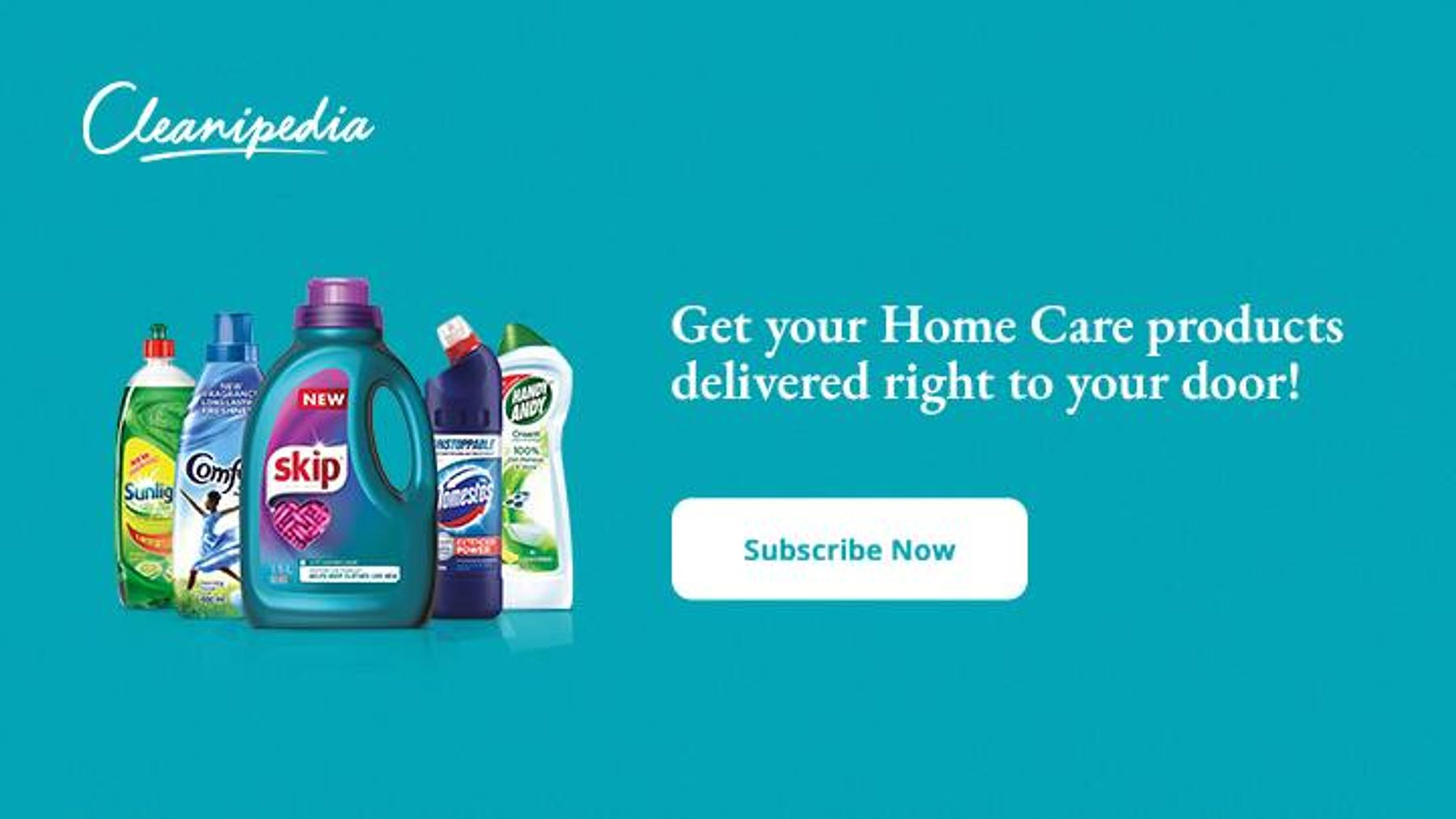 Get your Home Care products delivered right to your door!