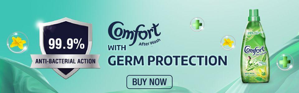 Comfort Anti-Germ advert Leaderboard