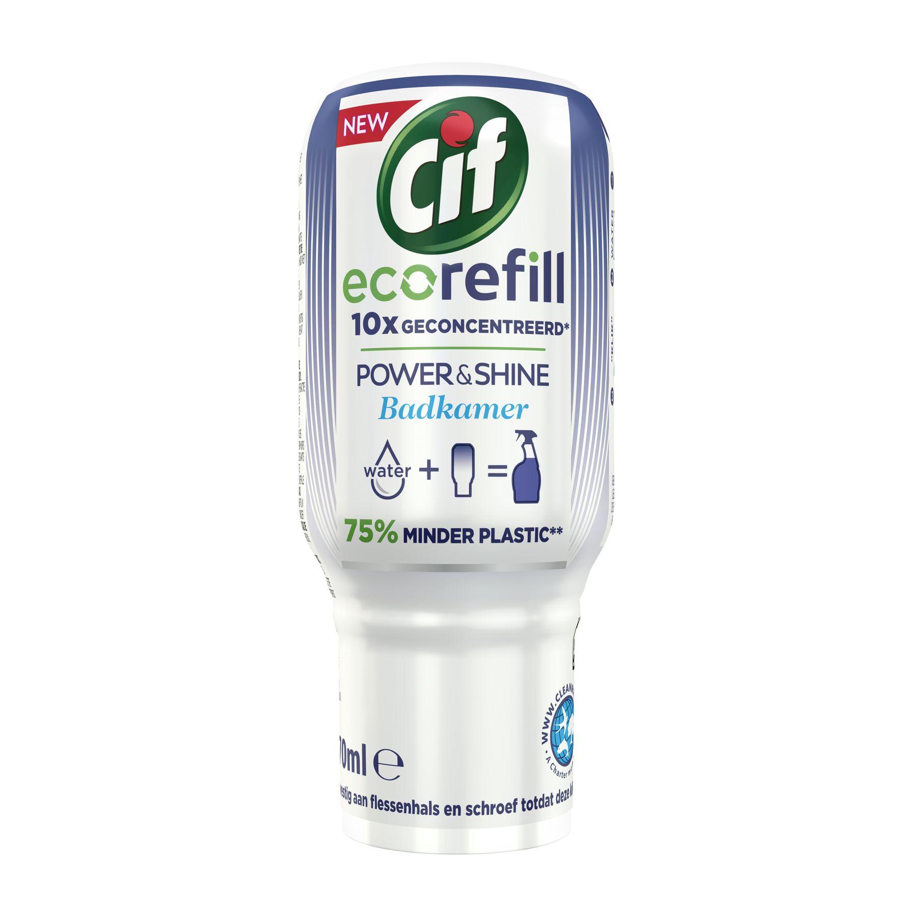 Cif Power & Shine Ecorefill Bathroom 70ml