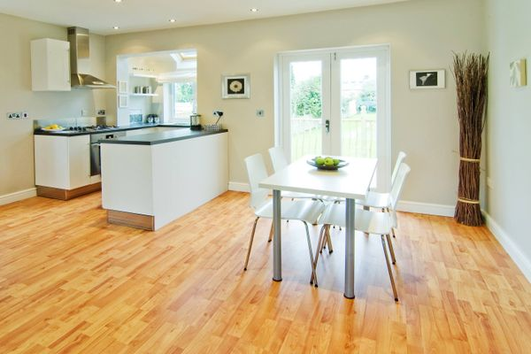 Laminated wood floor looking dull? Here's how to spruce it up
