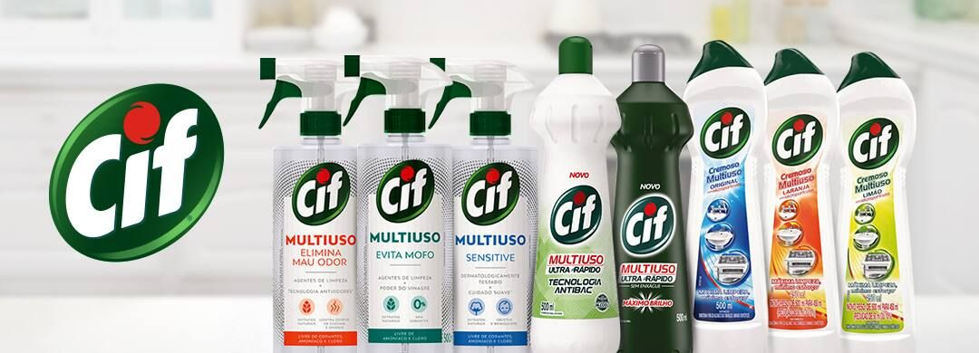 Linha de Produtos CIF Multiuso