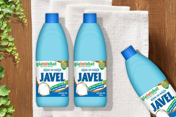 Cách vệ sinh máy giặt bằng nước tẩy quần áo Javen