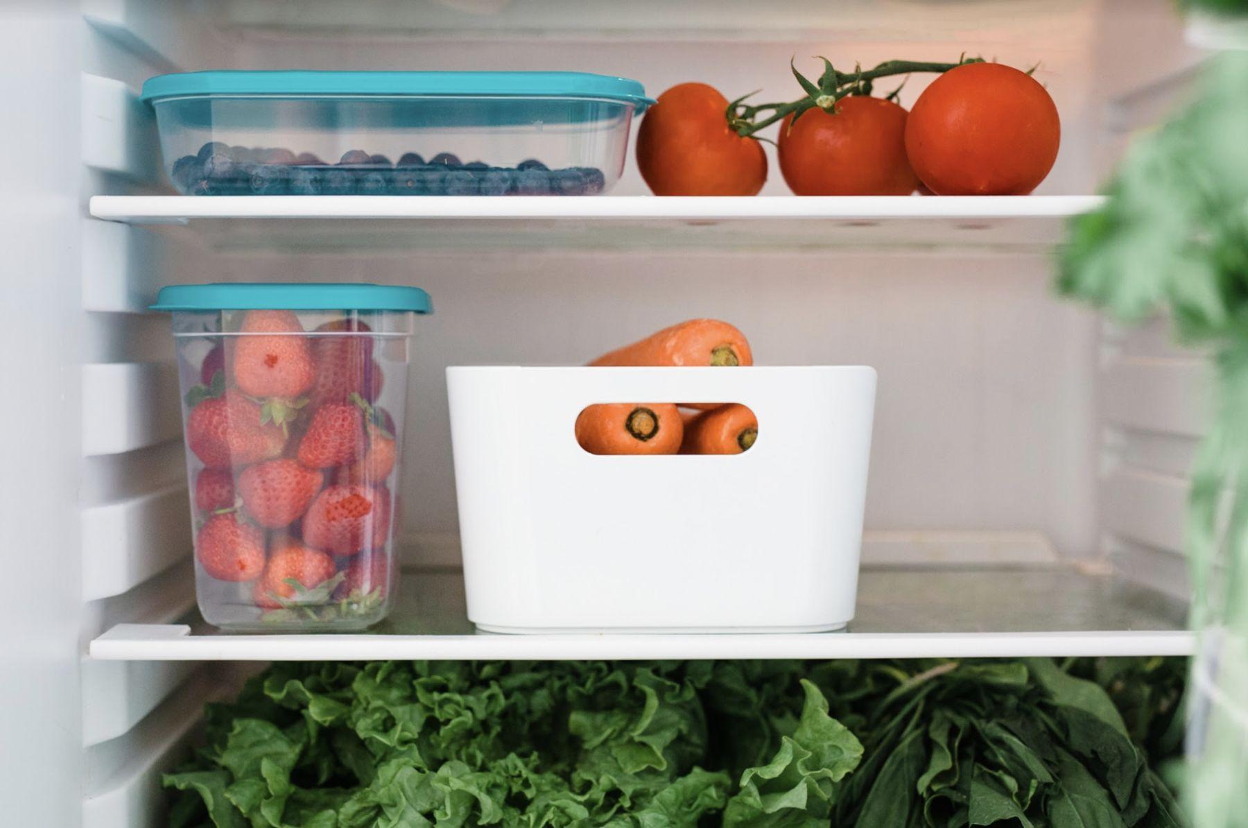 Step 3: Envasar la verdura y meterla en el freezer