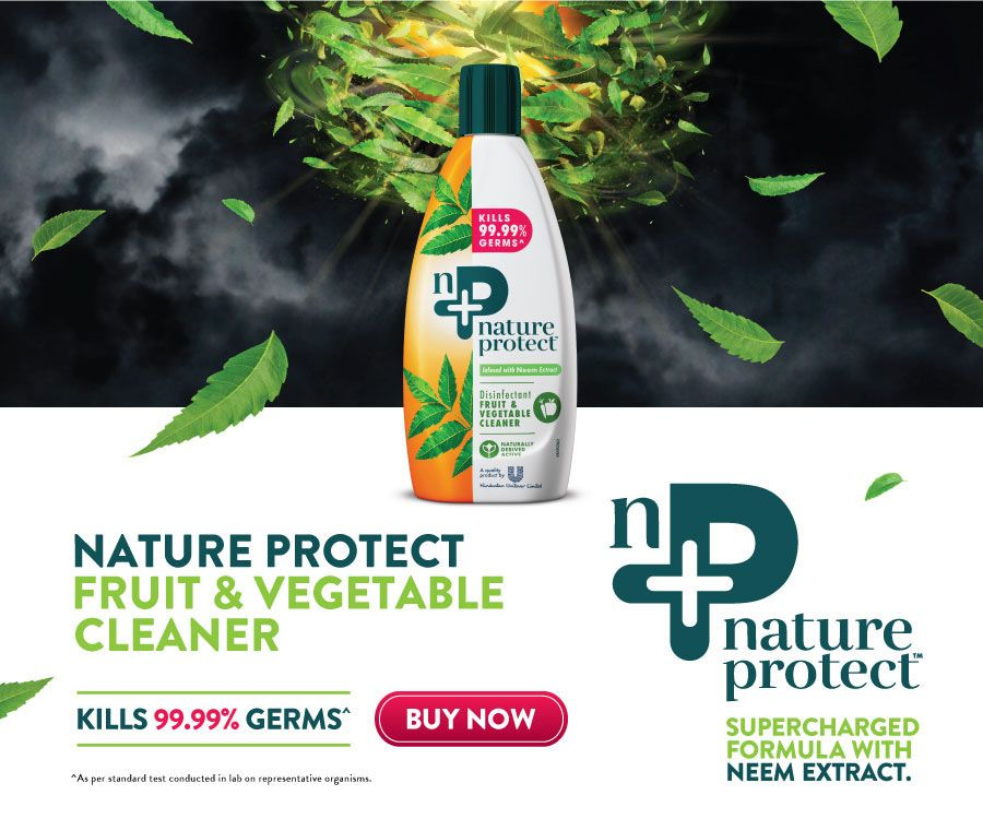 Nature Protect Fruit and Vegetable wash