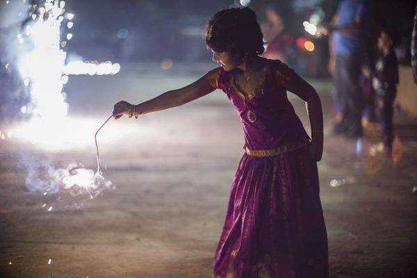 Make this Diwali safe for childrens