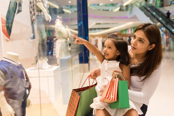 Stay safe in mall and market