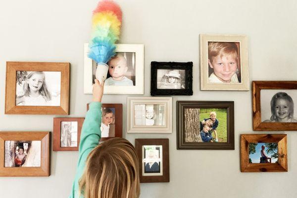 Lista de tareas del hogar para chicos según su edad
