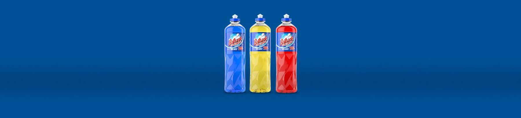Linha de Produtos Brilhante Detergente