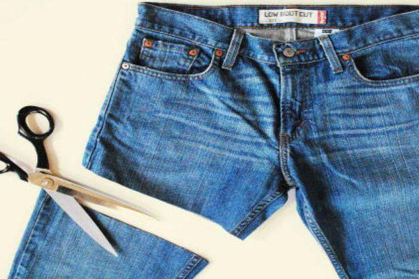 Cách tái chế quần jean cũ