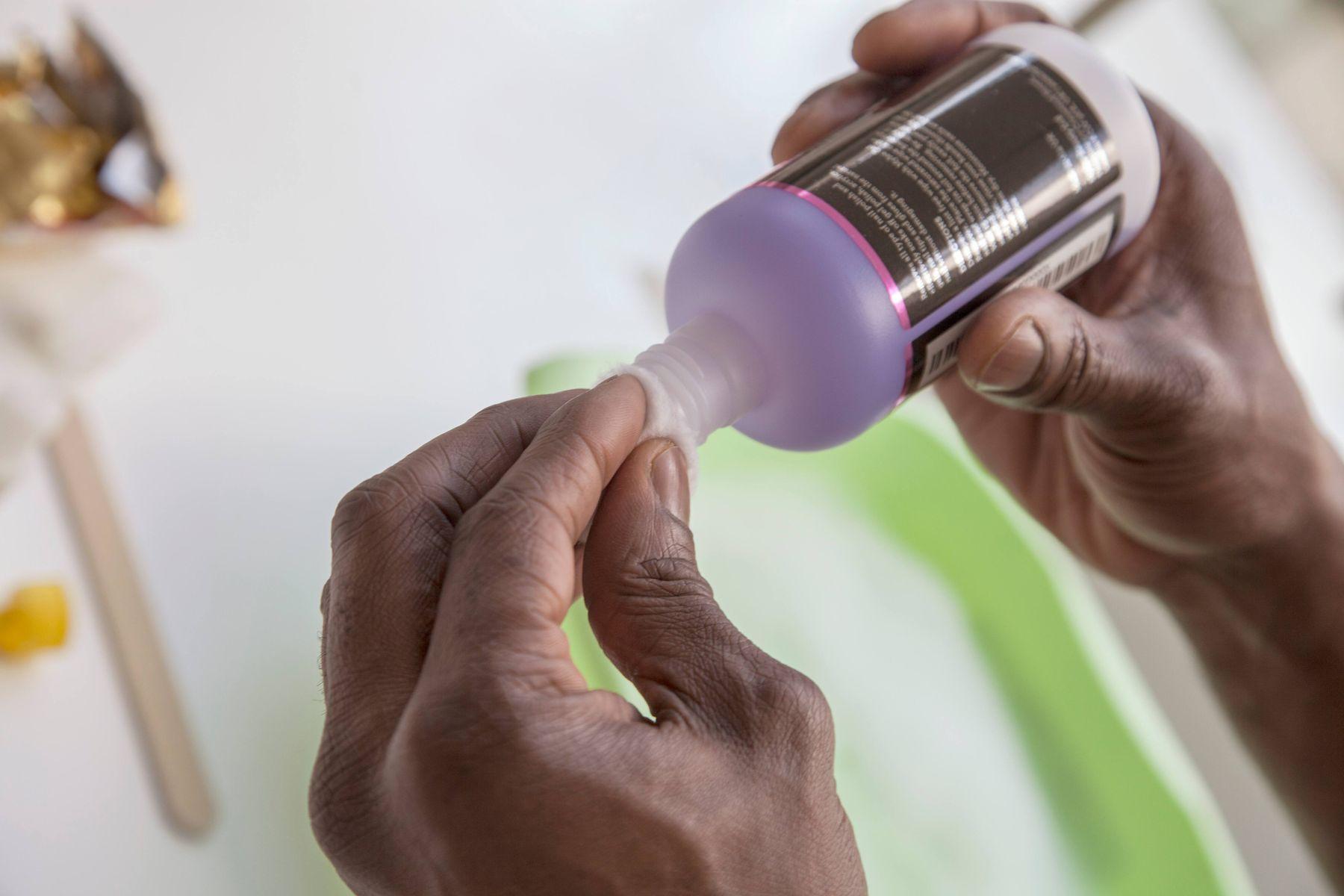 aseton kullanarak çift taraflı bant çıkarma