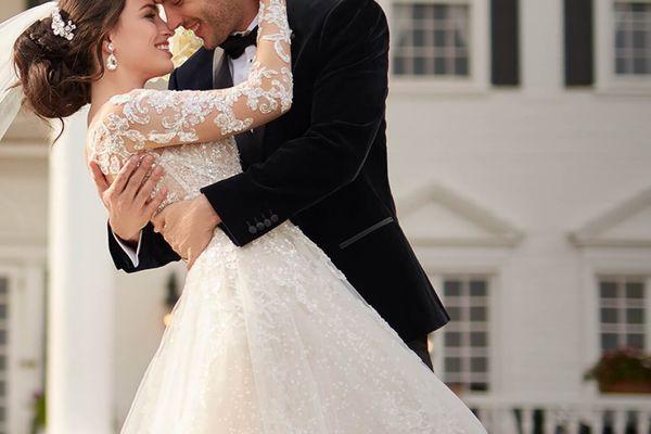 Váy cưới cô dâu chú rể