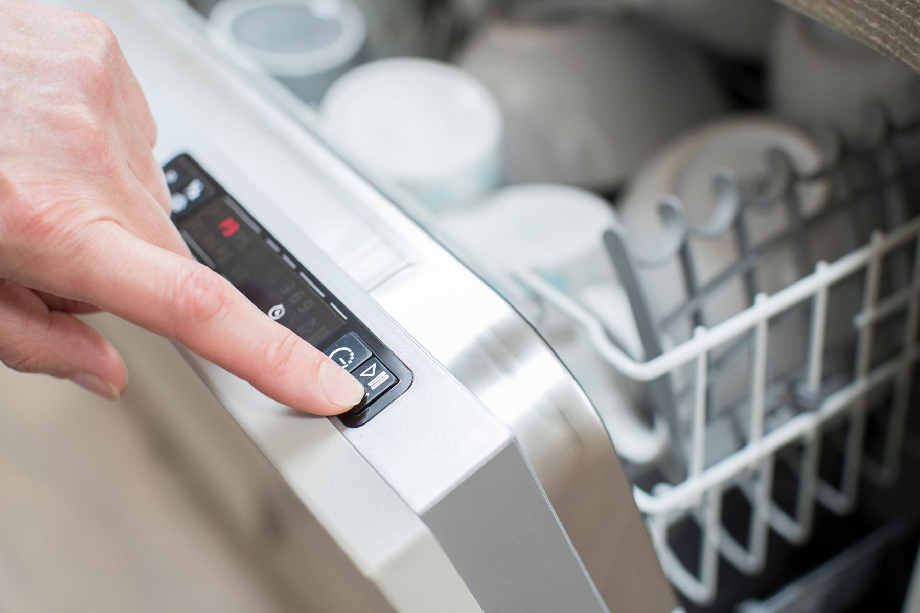 nguyên lý hoạt động của máy rửa chén
