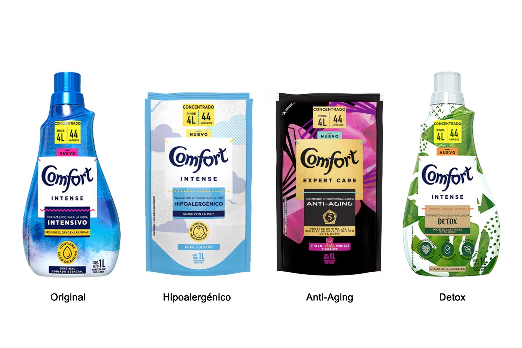 comfort variedades