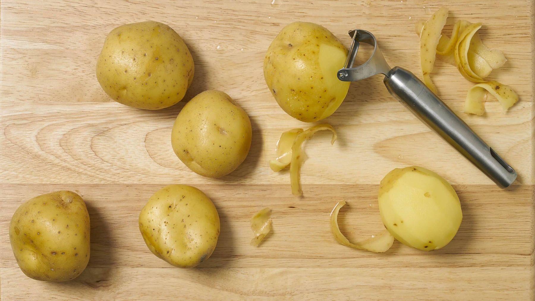 cách tẩy rỉ sét trên inox bằng khoai tây