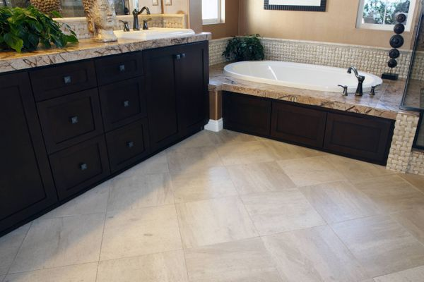 This Method to Clean Your Bathroom Flooring Will Leave You Floored