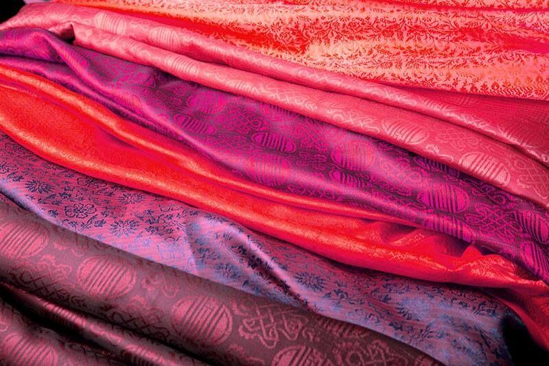 Rèm vải bố, cotton