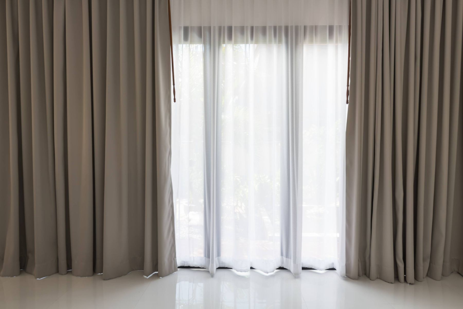 7) Window Curtains