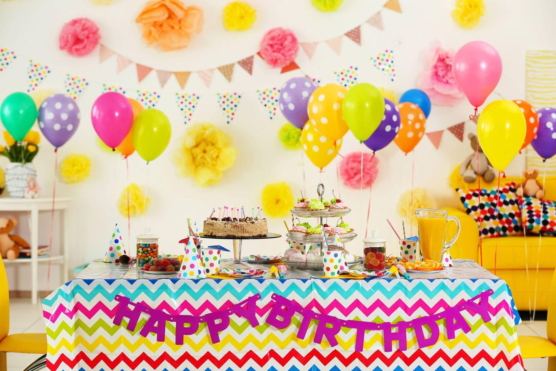 Ide-ide menarik untuk dekorasi ulang tahun anak di rumah