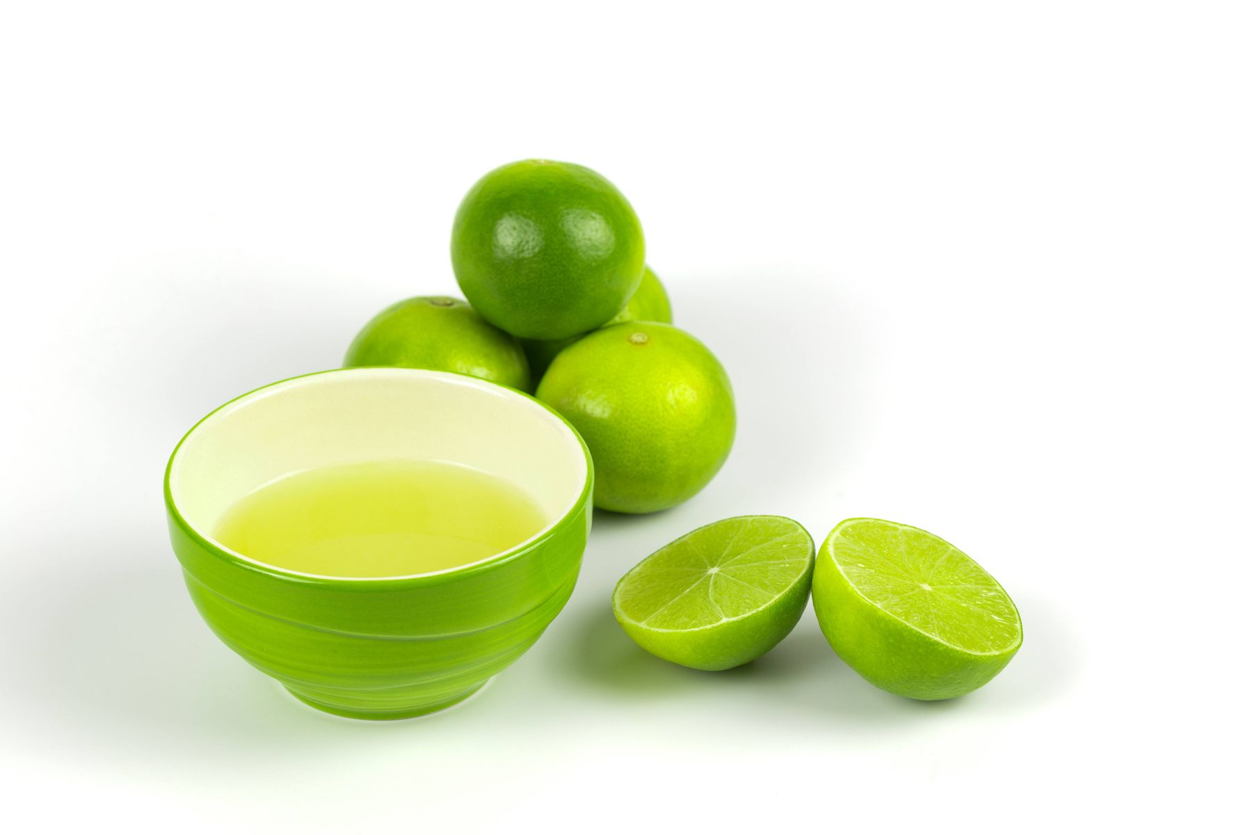 Lime juice for bathroom cleaning
